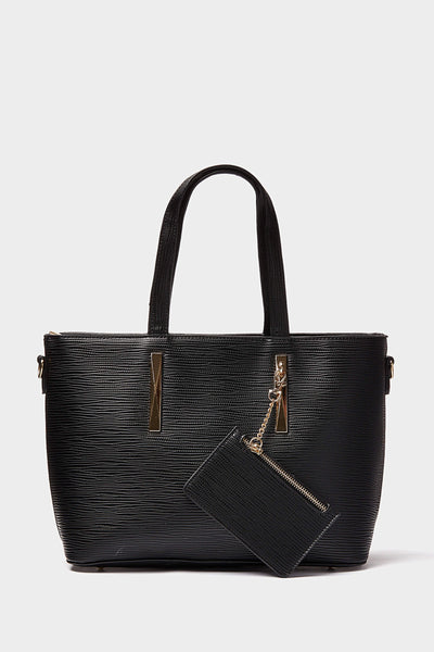 S17W-2200004171-BCK-OS-textured-shopper-bag-with-coin-purse-black-jl1891