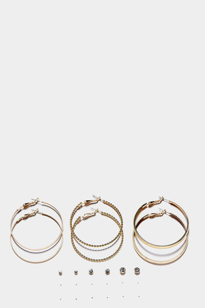 S17W-2600004754-GLD-OS-stud-and-hoop-earring-set-gold-jl2249