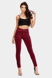 Red Cord Skinny Jeans