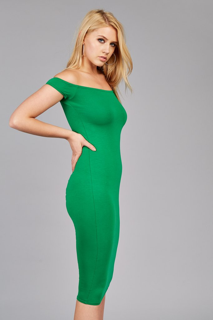 bardot-midi-dress view 4