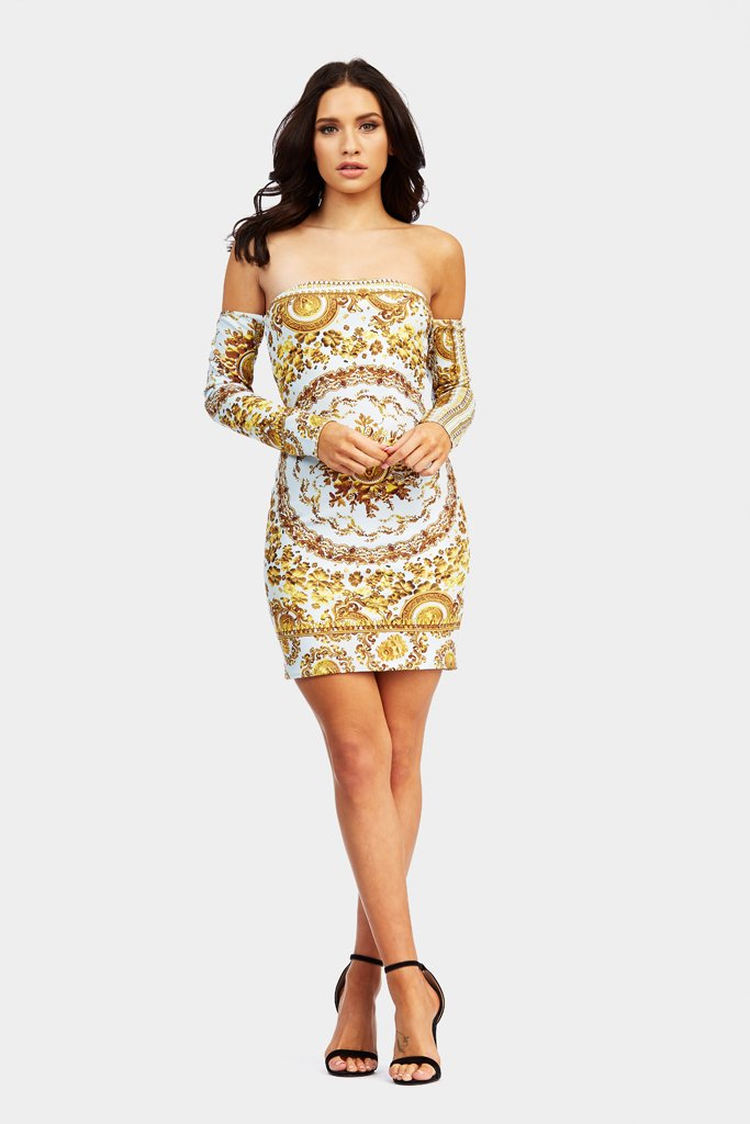 printed-placement-bodycon-dress