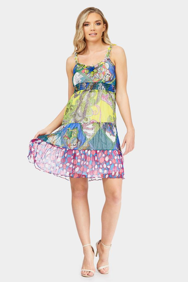 printed-chiffon-dress-with-ruffle-detail-straps-