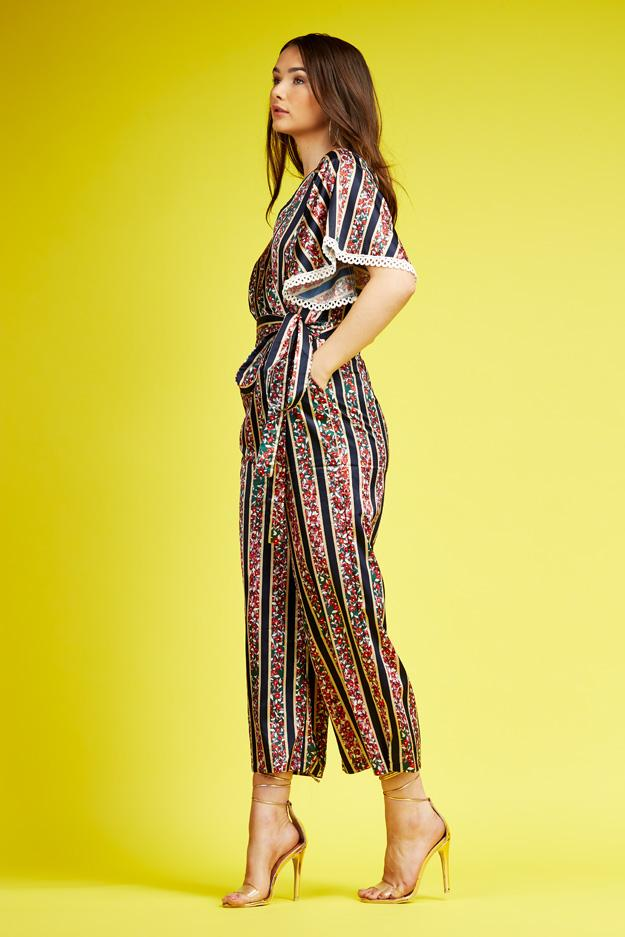 floral-print-flare-sleeve-wrap-over-jumpsuit-