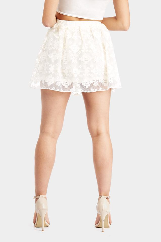 lace-mini-skirt view 4