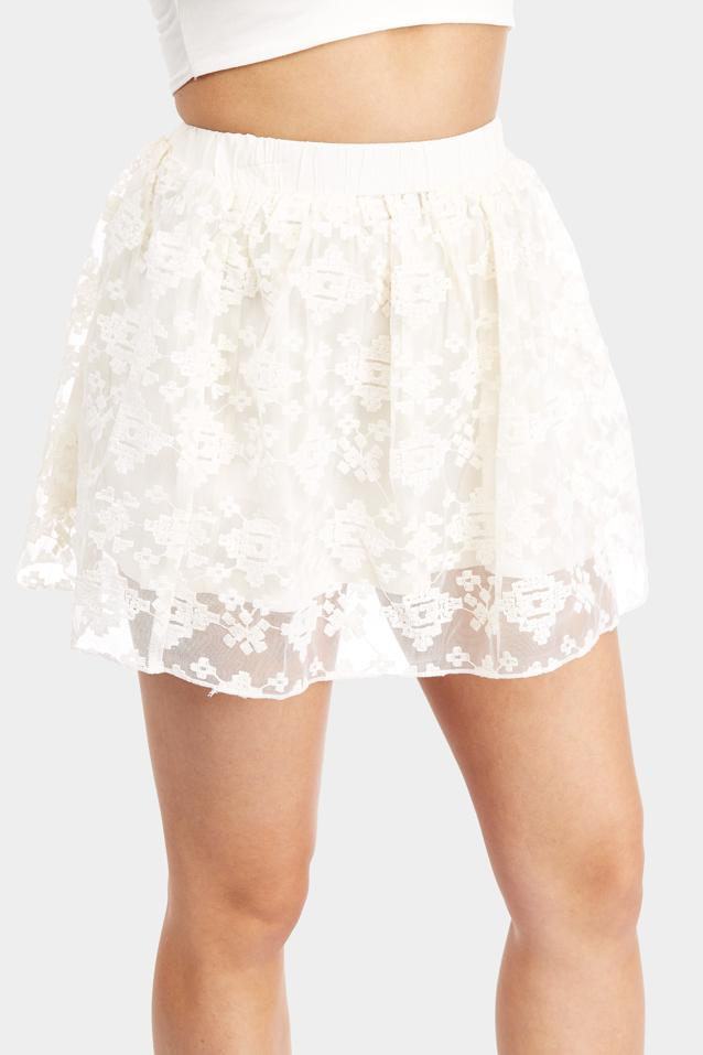 lace-mini-skirt view 5