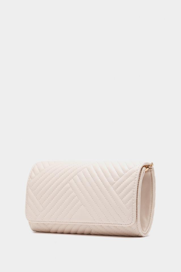 Nude Textured Cross Bodybag