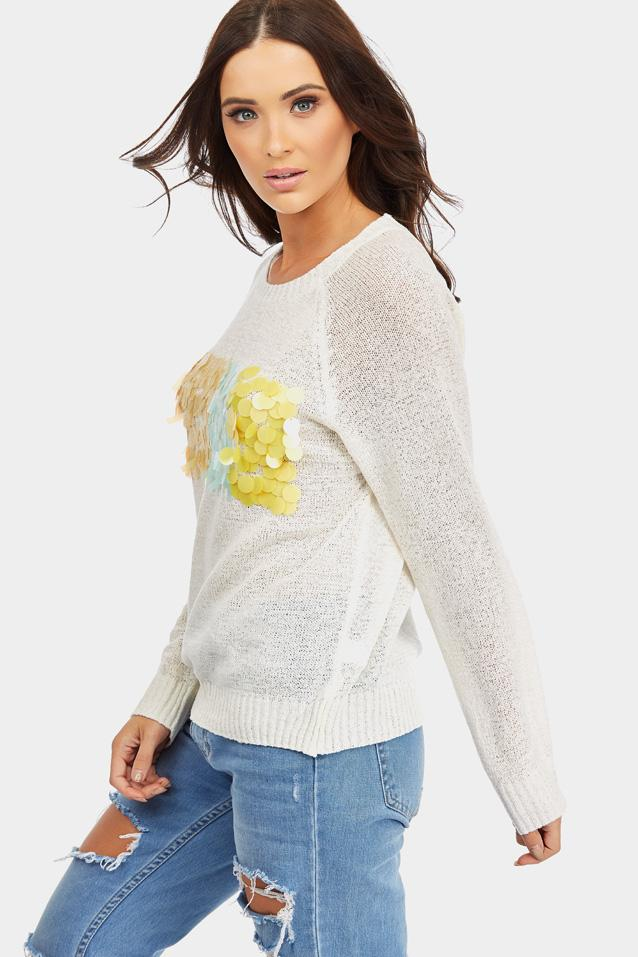 knitted-jumper-with-embellished-front- view 5
