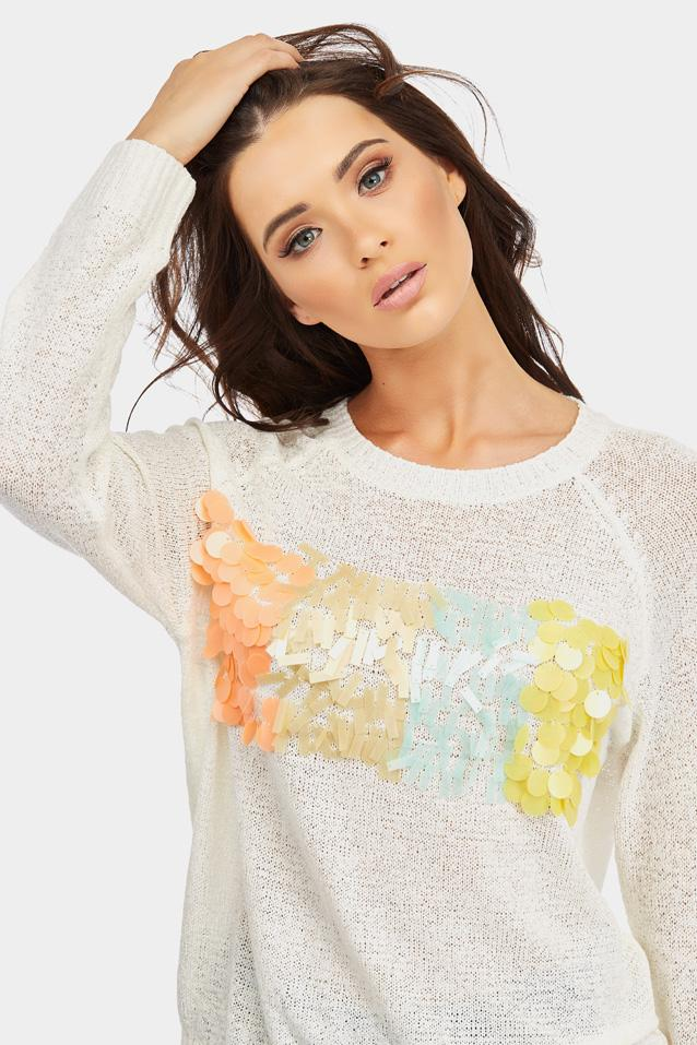 knitted-jumper-with-embellished-front- view 4