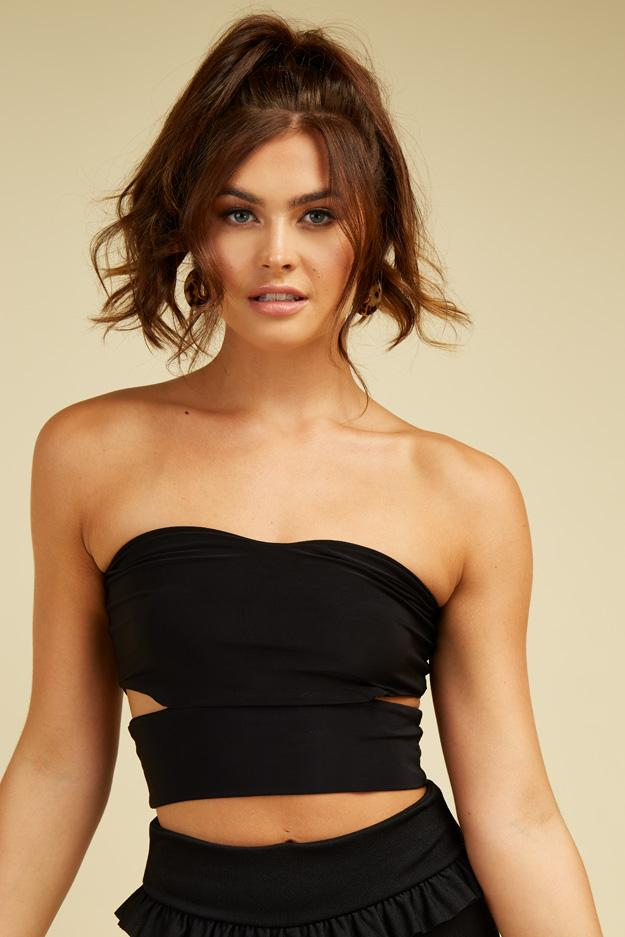 cut-out-slinky-bandeau-top- view main view