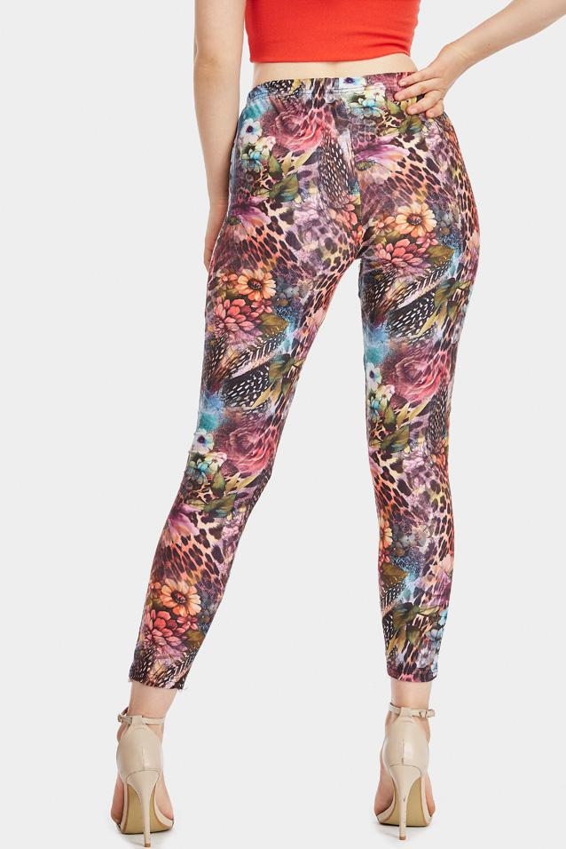 animal-floral-print-leggings- view 4