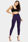 Purple Fleeced Lined Leggings