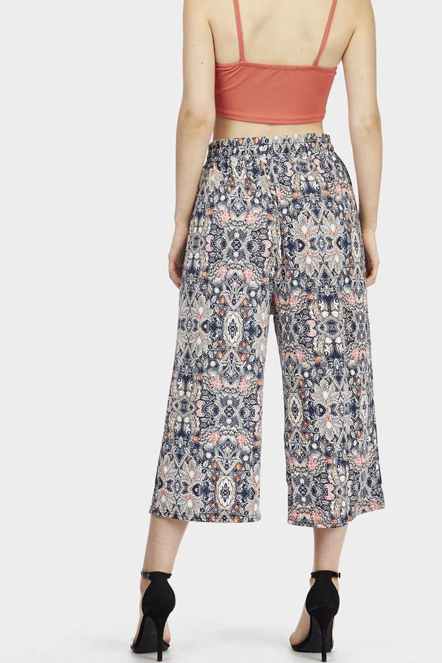 floral-printed-culottes view 4