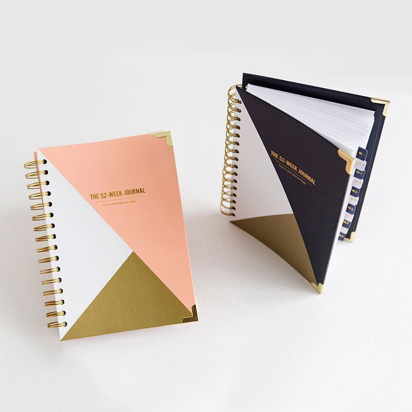 The 52-Week Journal (undated) - The Happiness Plannerå¨