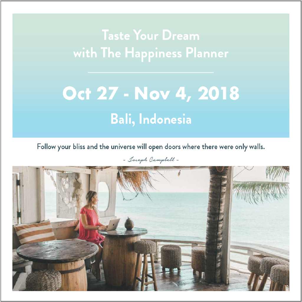 Taste Your Dream Retreat | Bali | Oct-Nov
