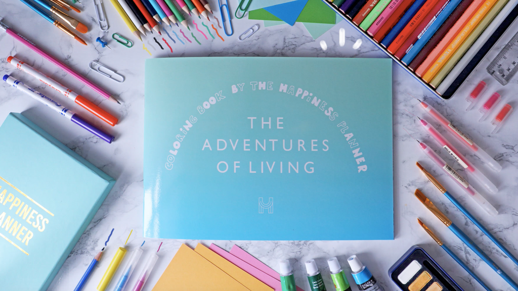 Colouring Book: The Adventures of Living