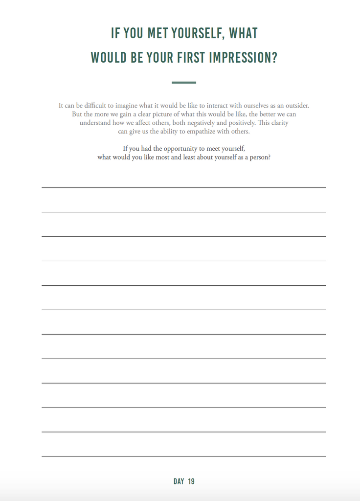 Self-Awareness e-Journal - The Happiness Planner®