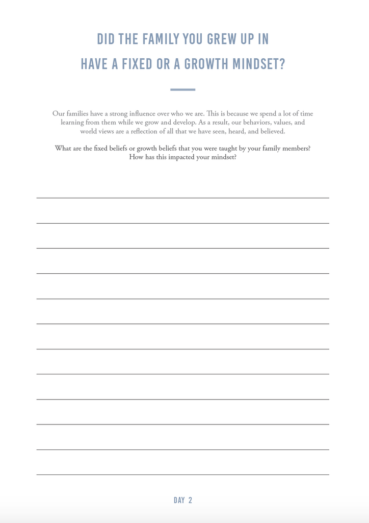 Growth Mindset e-Journal - The Happiness Planner®