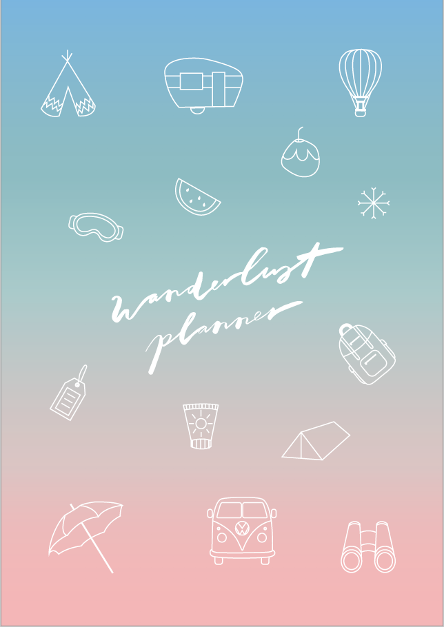 The Wanderlust Planner (digital) - The Happiness Planner®