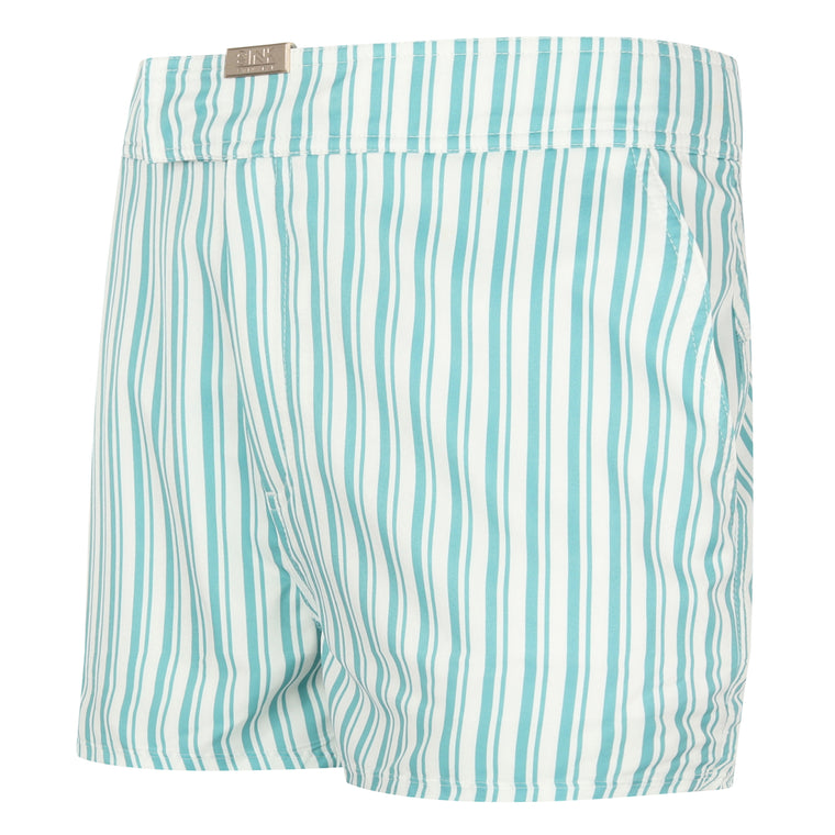 Tailored Maiden Cay Blue Swim Shorts