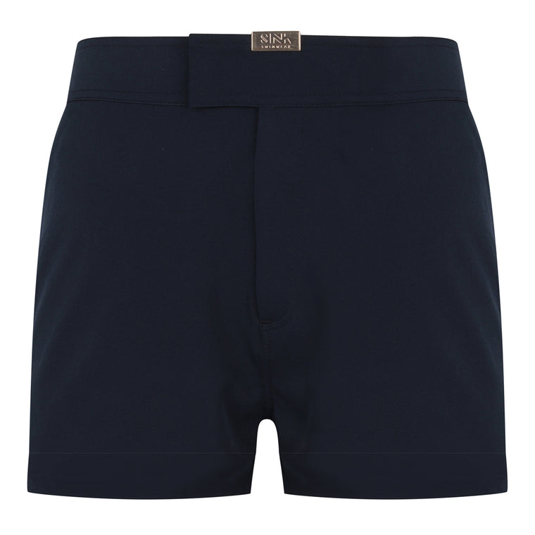 Tailored Midnight Blue Swim Shorts