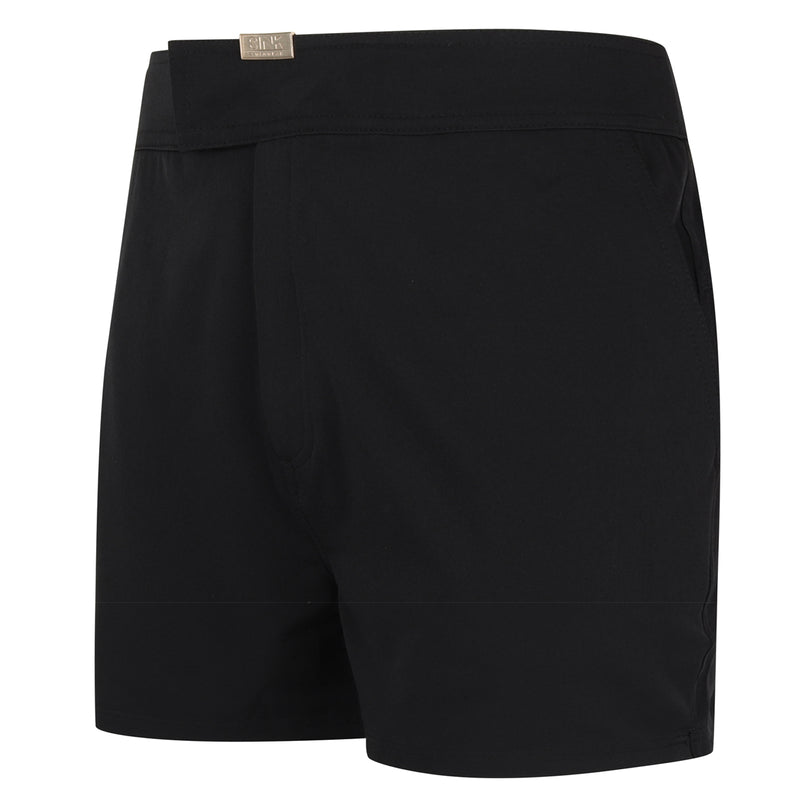 Tailored Encore Black Swim Shorts