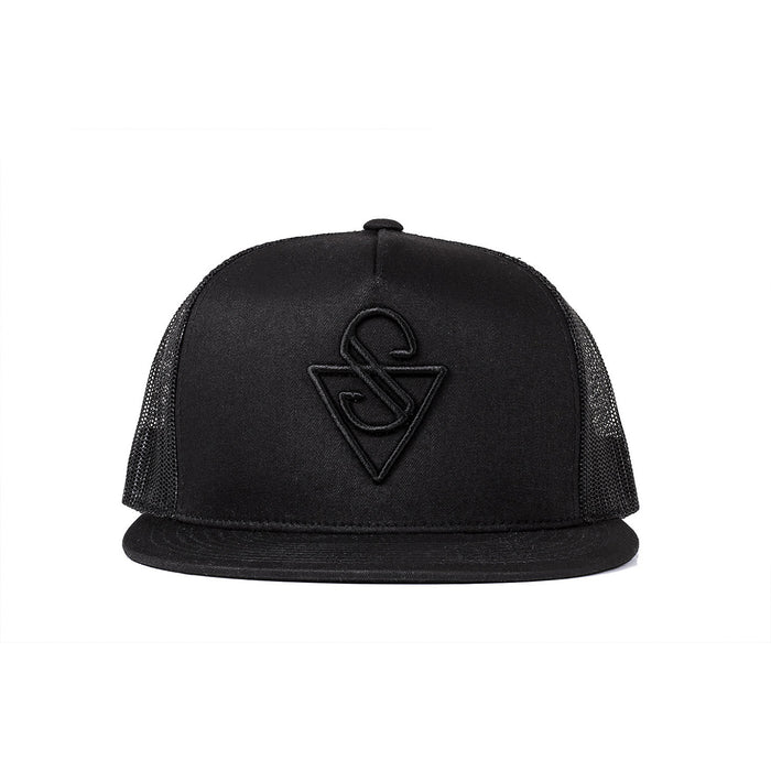 Sink Trucker Signature Black Mesh with Black Logo