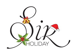 sir holiday Christmas logo