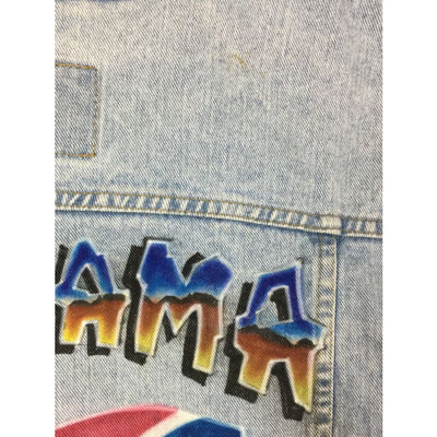 Christmas Alabama Mark Selvage Arizona Jeans Vintage Jacket Size XL - Christmas