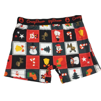Christmas Crazy Boxer Christmas Theme XL NWT - Christmas