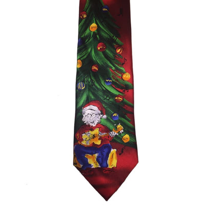 Christmas Guitar Tie - Christmas