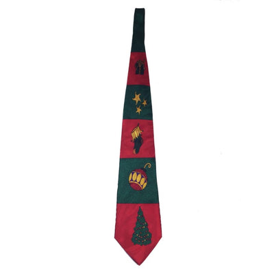 Christmas Holiday Decoration Silk Tie - Christmas