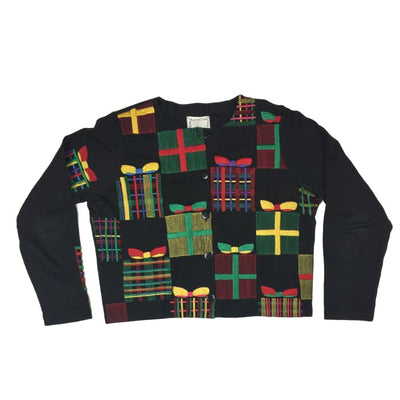 Christmas Presents Michael Simon Lite Vintage Sweater Size Unknown - Christmas