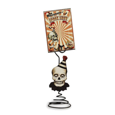 Halloween Big Top Place Card Holder with Card - Halloween