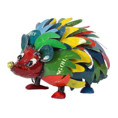 Harry the Hedgehog Handcrafted Sculpture - Christmas