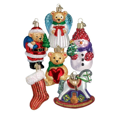 Ornament Childs First Christmas Collection Box Set (6 Pieces Plus Box) - Christmas