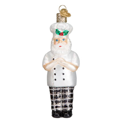 Ornament Santa Chef 5 - Christmas
