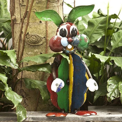 Ringo The Rabbit Handcrafted Sculpture - Christmas