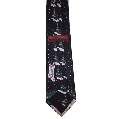 Santa On The Run Tie - Christmas