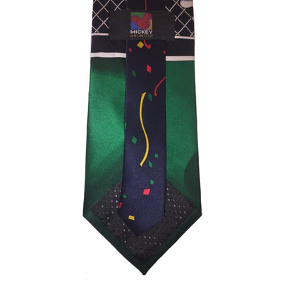 Soccer Mickey Silk Tie - Christmas