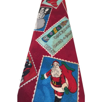Stamps Tie - Christmas