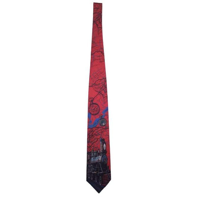 Time Of The Steam Train Tie - Christmas
