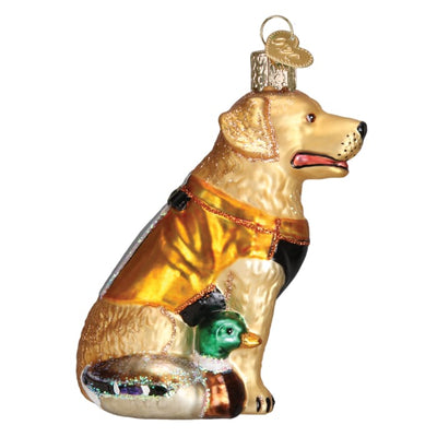 Tree Single Ornament Hunting Dog 3 3/4 - Christmas