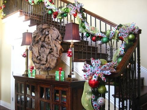 traditional decorations for stair