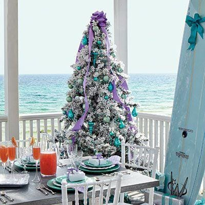 beach holiday christmas decorations