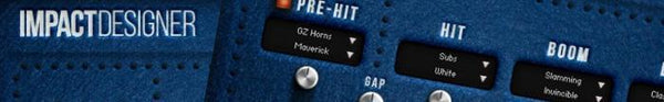 We talk to the people behind Zero-G's Kontakt instrument 'Impact Designer'