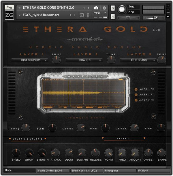 Ethera Gold 2.01 FREE Update - Import your own sounds