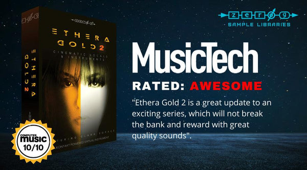 MusicTech 검토 Ethera Gold 2