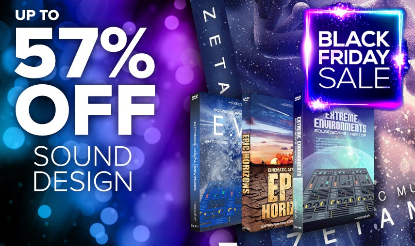 BLACK FRIDAY SOUND DESIGN DEALS