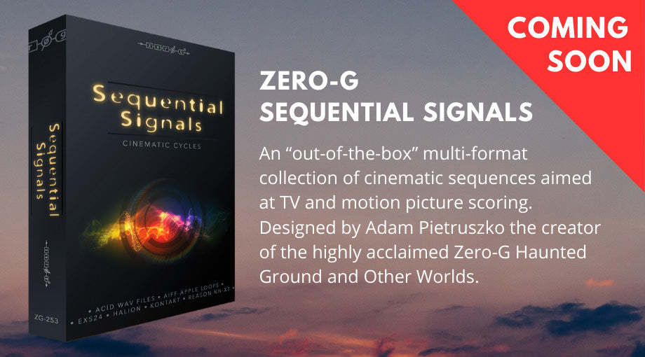 Zero-G Sequential Signals - Cinematic Cycles