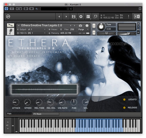 ETHERA Soundscapes GUI 1